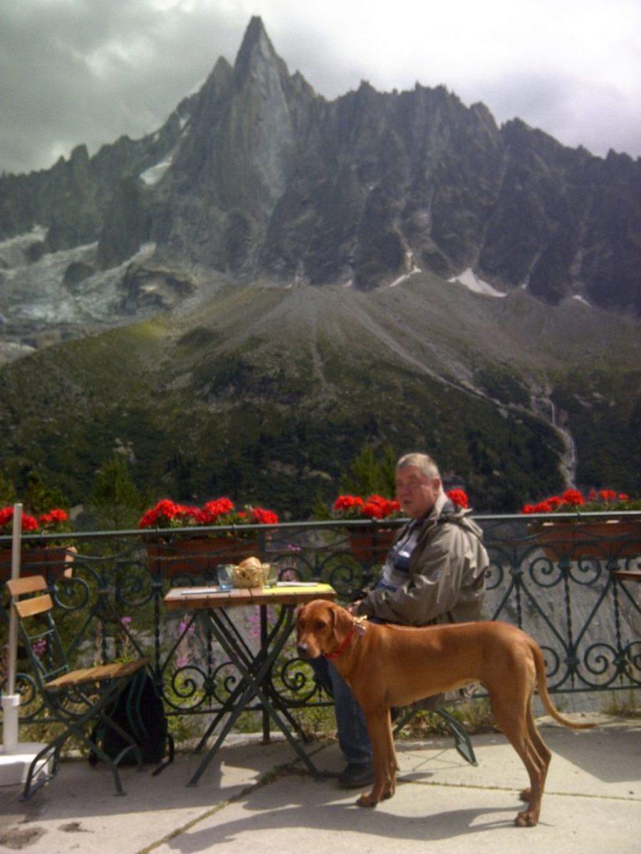 Bora w Alpach z Mirkiem