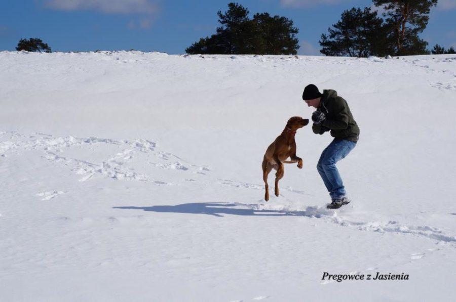 Taniec na sniegu